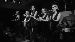 Elle and the Pocket Belles with their Hollywood Glamour Show