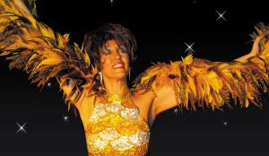 Julia Martin as Shirley Bassey