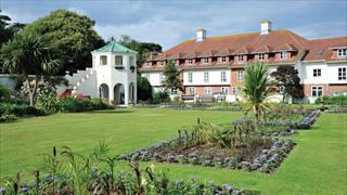 Carousel Item 2: The walled garden at Bembridge Coast Hotel.