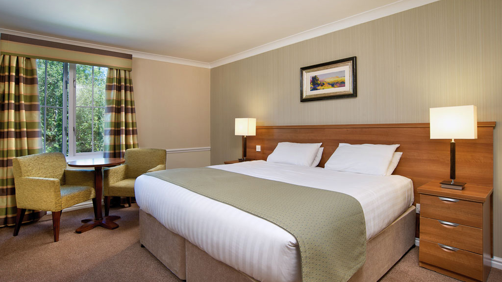 colorful bedroom decor standard rooms at alvaston hotel cheshire warner 11166