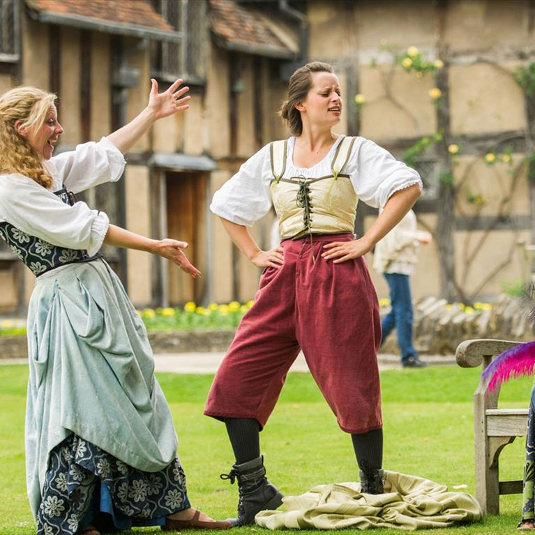 Actors at Shakespeare Birthplace Trust