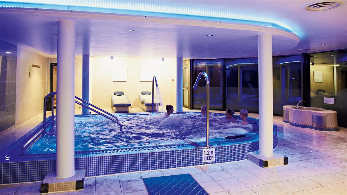 Spa In Swimming Pool: The Spa At Thoresby Hall Hotel
