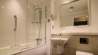 Carousel Item 3: Standard bathroom at Thoresby Hall Hotel